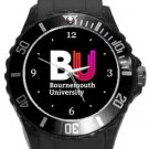 Bournemouth University Plastic Sport Watch In Black