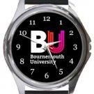 Bournemouth University Round Metal Watch