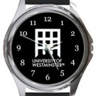 University of Westminster Round Metal Watch