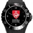 Middlesex University Plastic Sport Watch In Black