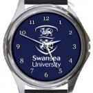 Swansea University Round Metal Watch