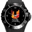 Teesside University Plastic Sport Watch In Black