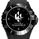 University of Huddersfield Plastic Sport Watch In Black