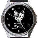 University of York Round Metal Watch