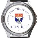 The University of Dundee Round Metal Watch