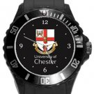 University of Chester Plastic Sport Watch In Black