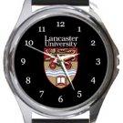 Lancaster University Round Metal Watch