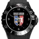 Robert Gordon University Plastic Sport Watch In Black