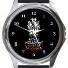 Royal Holloway University of London Round Metal Watch