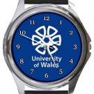 University of Wales Round Metal Watch