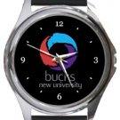 Buckinghamshire New University Round Metal Watch