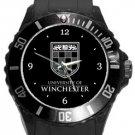 University of Winchester Plastic Sport Watch In Black