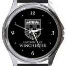 University of Winchester Round Metal Watch