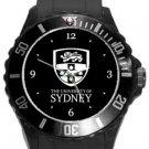University of Sydney Plastic Sport Watch In Black