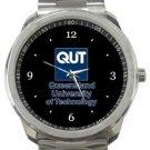 Queensland University of Technology Sport Metal Watch
