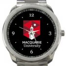 Macquarie University Sport Metal Watch