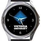 Victoria University Round Metal Watch