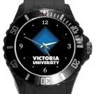 Victoria University Plastic Sport Watch In Black