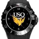 University of South Queensland Plastic Sport Watch In Black