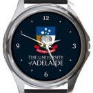 University of Adelaide Round Metal Watch