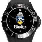 Flinders University Plastic Sport Watch In Black
