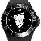 Central Queensland University Plastic Sport Watch In Black