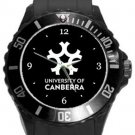 University of Canberra Plastic Sport Watch In Black