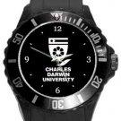 Charles Darwin University Plastic Sport Watch In Black