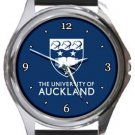 The University of Auckland Round Metal Watch