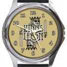 Kings of Leon Round Metal Watch