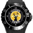 Ilford Town Football Club Plastic Sport Watch In Black
