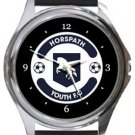 Horspath Youth Football Club Round Metal Watch