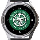 The Celtic Football Club Round Metal Watch