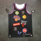 Supreme 94 18ss NBA Team Black Basketball Jersey Free Shipping BNWT