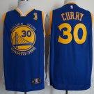 2018 Men's Golden State Warriors #30 Champions Stephen Curry Basketball Blue Jersey