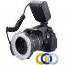 Travor Macro 48 pieces LED Ring Flash Light RF-550E for Sony DSLR all Alpha A500 A200 A850 A77 A65