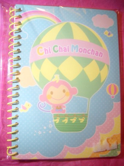 Chi Chai Monchan Mini Spiral Kawaii Notebook
