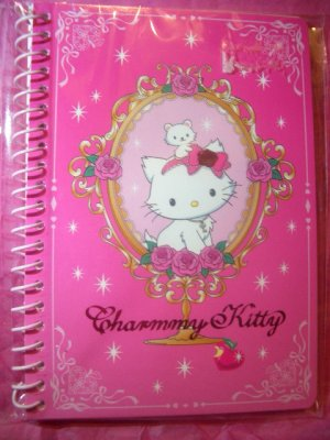 Charmmy Kitty Mini Spiral kawaii notebook