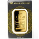 1 oz Asahi Gold Bar (New w/ Assay)