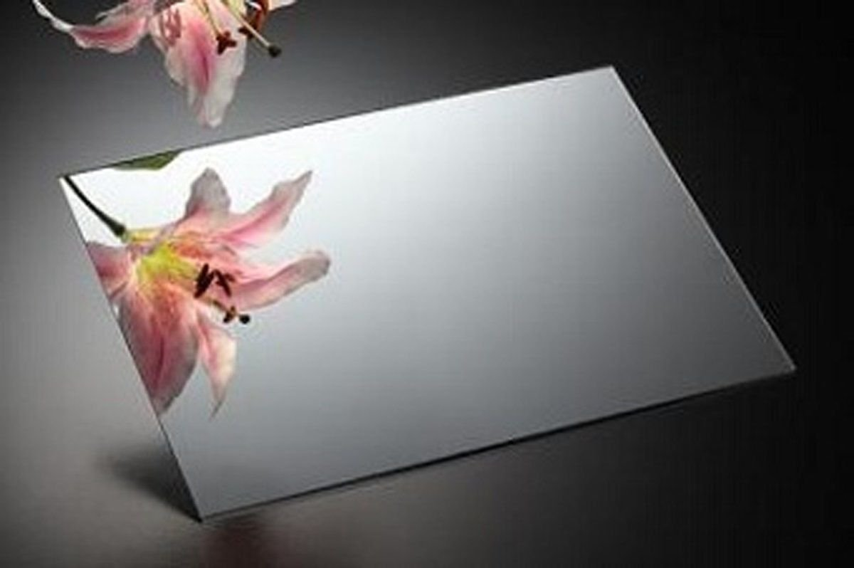 Acrylic Mirror 12x12 Cut to Size Silver Gym Kids Vanity Mirrored Plastic Sheet
