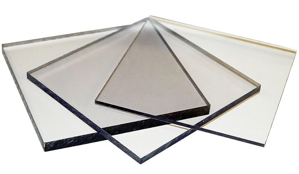 POLYCARBONATE PC PLASTIC SHEET USED IN WALKWAYS SKYLIGHTS GREENHOUSE 12X12 10MM