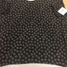 New LulaRoe Black Irma Medallion Size 3XL New NWT Cross
