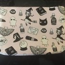 1~ Ipsy Valfre Makeup Cosmetic Case Zipper BN October 2016 Bag ONLY Halloween