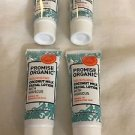 Promise Organic Nourishing Coconut Milk Facial Lotion w/ Hibiscus .5 oz Lot of 4