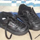Baby Size 4 1/2 Boys Shoes Black REEBOK Tennis Shoes