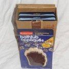 Rubbermaid Bathtub Appliques Vintage NEW BOX 6 Package LOT Bulk Chocolate