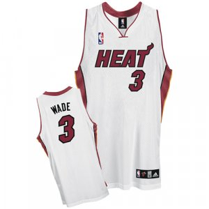Miami Heat Dwyane Wade Authentic Home Jersey