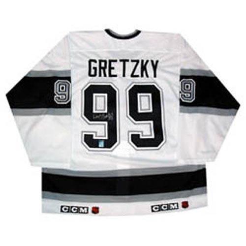 Frozen Pond Los Angeles Kings Wayne Gretzky Autographed Jersey