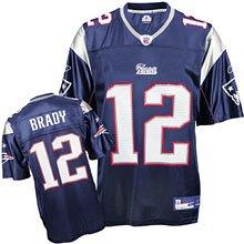 New England Patriots Tom Brady Replica Team Color Jersey