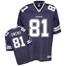 Dallas Cowboys Terrell Owens Replica Team Color Jersey